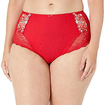 Elomi Women's Plus Size Charley Full Brief, red, XXX-Large