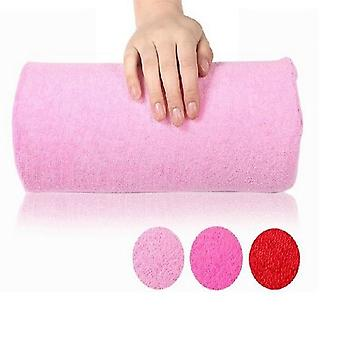 Manicure Pillow Hand Rest Holder Cushion Arm Towel Tool Equipment