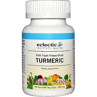 Institut éclectique, curcuma, 395 mg, 90 bouchons de légumes non OGM