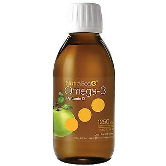 Ascenta, NutraSea + D, Omega-3 + Vitamin D, Crisp Apple Flavor, 6.8 fl oz (200 m
