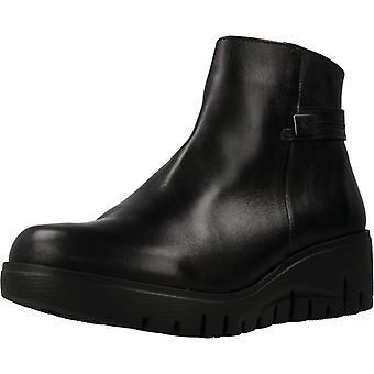 Fluchos enkellaarsjes F1014 Zwarte Kleur