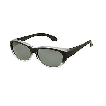 Sunglasses Women's Black with Grey Lens Vz0027lt