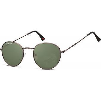 Solglasögon Unisex runda taupecolor MP92C-XL