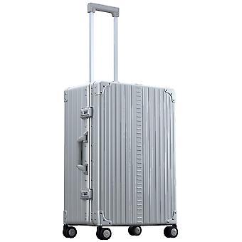 "ALEON Traveler 26"" Trolley 45 cm, 59 L, Plata"