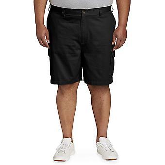 Essentials Men's Big & Tall Cargo Short, Black, 50