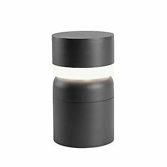 LED Outdoor Pedestal Light White, Dark Grey IP54