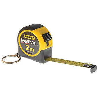 Stanley Tools Key Ring Tape 2m (Width 13mm) STA133856