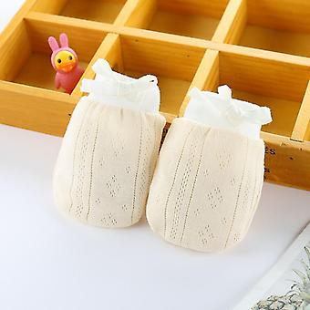 Cotton Baby Anti Scratching Gloves Mittens Newborn Infant Protection Face Keep Finger Warm