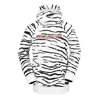 Volcom Hydo Riding Hoodie - White Tiger