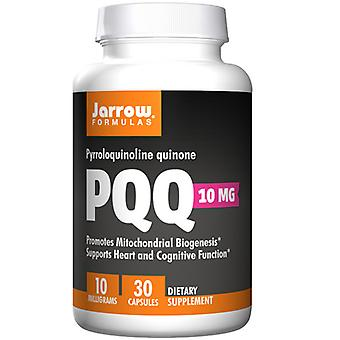 Jarrow Formulas Pqq - Pyrroloquinoline Quinone, 10 mg, 30 Korkkia
