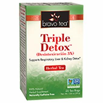 Bravo Tea & Herbs Detox Master Tea, 20 Bags