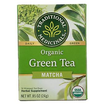 Traditional Medicinals Teas Organic Green Tea Matcha with Toasted Rice, 16 Bags