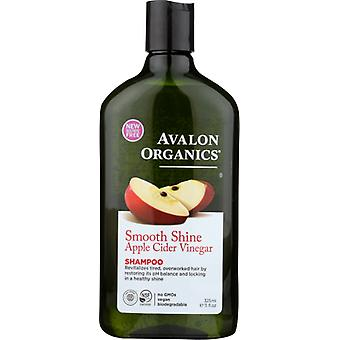 Avalon Organics Smooth Shine Apfelessig Shampoo, 11 Oz