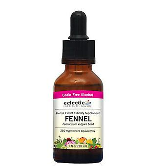 Eclectic Institute Inc Fenouil, 250 mg, 1 Oz avec alcool