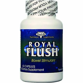 Oxylife Products Royal Flush Bowel Stimulant, 60 Caps