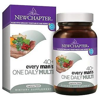 New Chapter Every Man's One Daily 40 Plus, 72 tabs