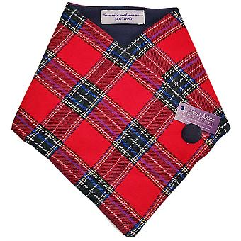 Red Stuart# Tweed One Size by Sew Nice Neckwarmers