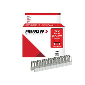 Arrow T72HW Insulated Staples 5 x 12mm Box 300 ARR721168HW