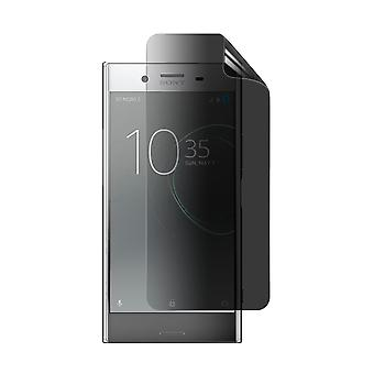 Celicious Privacy Plus 4-Way Anti-Spy Filter Screen Protector Film Compatible with Sony Xperia XZ Premium