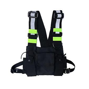 Streetwear Vest Rugzak, Vest, Wandelen - Chest Ring Bag voor man of vrouw