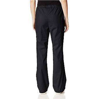 Cherokee Women & s ملابس العمل الأساسية تمتد البضائع الدعك بانت, أسود, M ...