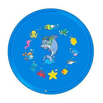 170 سم نفخ وسادة المياه رذاذ- الصيف أطفال تلعب المياه حصيرة العشب ألعاب