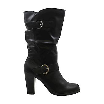 Style & Co. Womens Sachip Leather Closed Toe Mid-Calf Fashion Boots