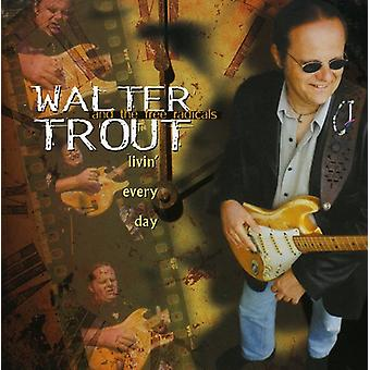Walter Trout - Livin' Every Day [CD] USA import