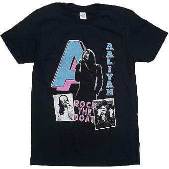 Aaliyah Rock The Boat Ufficiale Tee T-Shirt Unisex