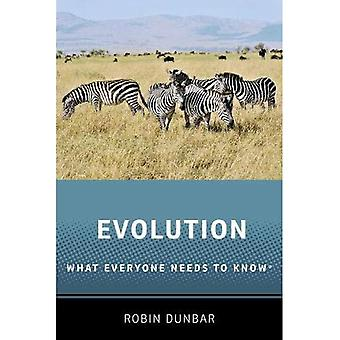 Evolution: What Everyone Needs to Know (R) (What Everyone Needs to Know (R))
