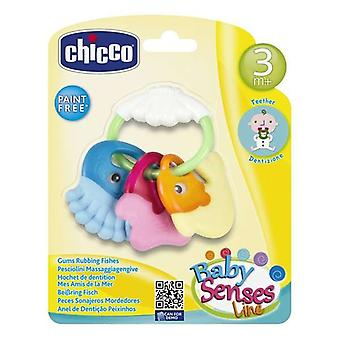 Teether for Babies Rattle Chicco (11,5 x 11 x 2,5 cm)