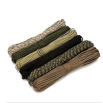 550 Parachute Cord Lanyard-rope Mil Spec Type-iii 7-strand Climbing Camping