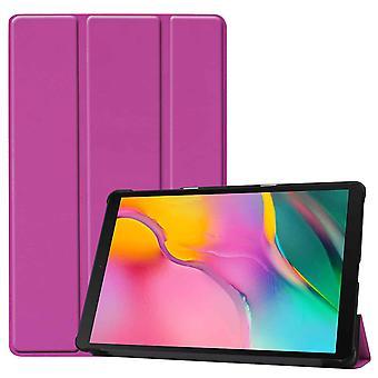 FONU Tri-Fold SmartCase Hoes Samsung Galaxy Tab A 10.1 inch 2019 - (T510 / T515) - Paars
