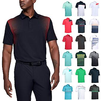 Under Armour Mens 2021 Playoff Polo 2.0 Breathable Stretch Light Golf Polo Shirt