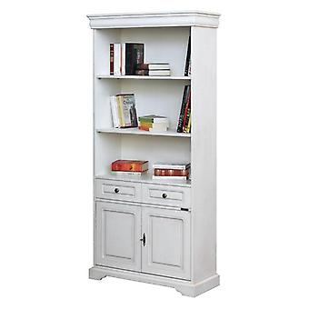 Bücherschrank Luigi Filippo mit Türen und Schublade