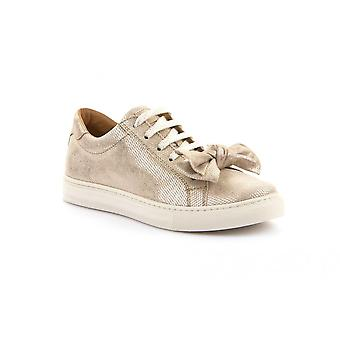 FRODDO Laced Leather Shoe Gold