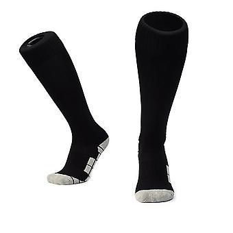 Fußball Socken Schwarz/Grau (XL)