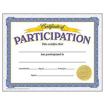 Certificat de participation Certificats classiques, 30 Ct