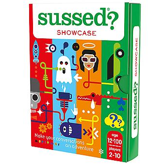 Sussed showcase - the complete who knows you best challenge - showcase your personality 12+ showcase