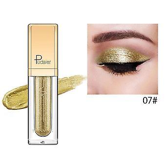 Pudaier Glitter & Glow Liquid Eyeshadow - Color # 07 Gold
