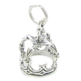 Korona Sterling Srebrny Urok .925 X 1 Korony Król Queem Księżniczka Książę - 3421