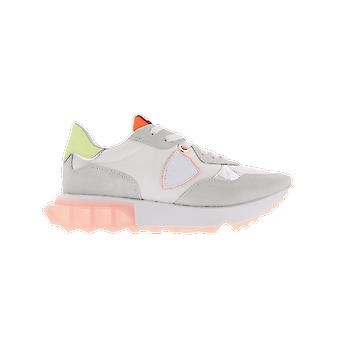 Philippe Model La Rue Low Womanmondial Neon_B A11ELRLDWN02MONDIAL NEON_BLANC O chaussure