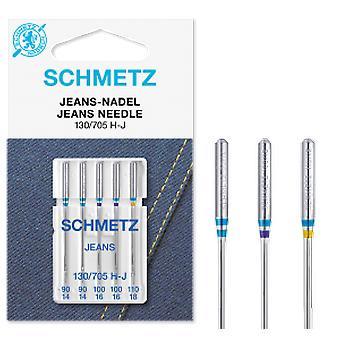 Schmetz Sewing Machine Needles - Jeans / Denim (Various Sizes)