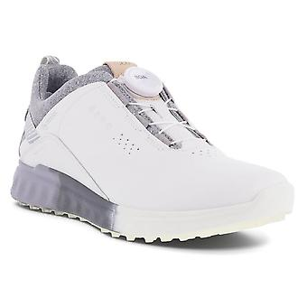 Ecco Womens 2021 Ecco Golf Cool Pro Leather Waterproof Spikeless Golf Shoes