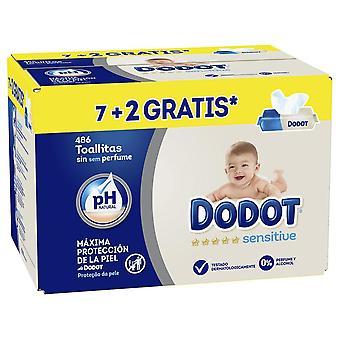 Dodot Sensitive Toallitas Bebé 486 uds