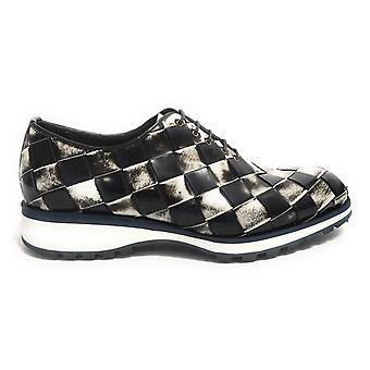 Men's Shoes Harris Francesine Leather Shade Blue White Shade Black U17ha139