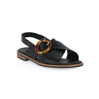 Frau black natural shoes