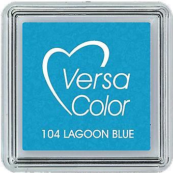 Versacolor Pigment Bläck pad Liten - Lagunblå