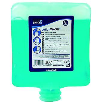Deb LTW2LT Estesol lotion hand Cleanser 2L i patron för dispenser