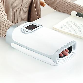 Elektrische hand massage apparaat warmte lucht compressie palm massager schoonheid vinger pols spa ontspannen pijnverlichting vrienden familie cadeau